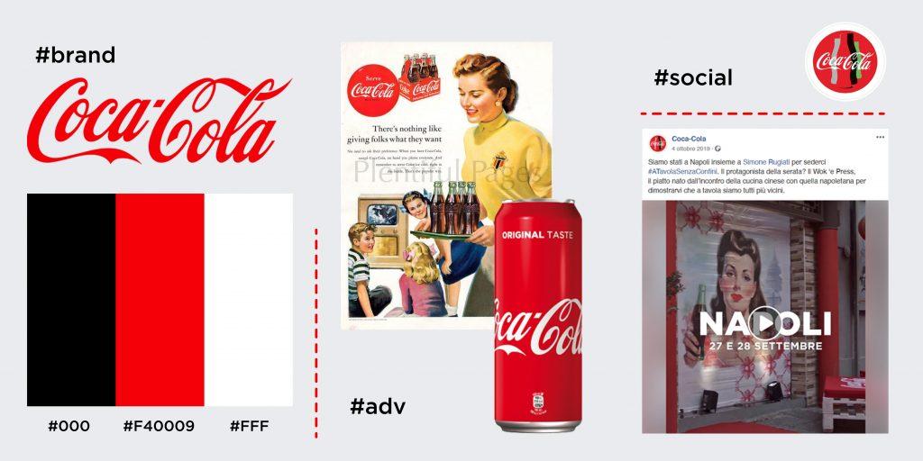 esempio di personal branding - coca cola