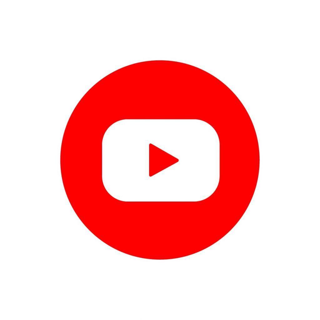 icona di youtube