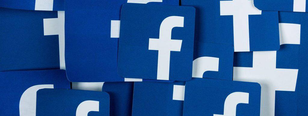 piano editoriale per i social media - logo facebook