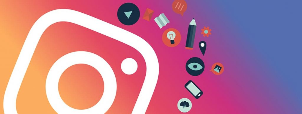 piano editoriale per i social media - logo instagram