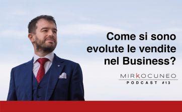 evoluzione delle vendite - podcast 13