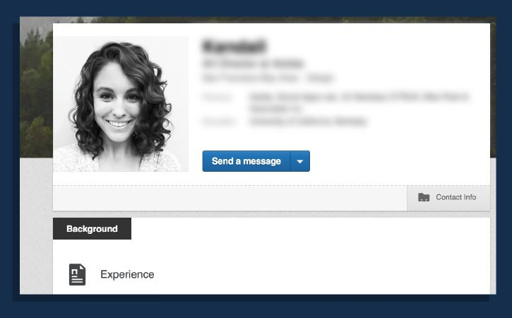Rendersi disponibili su Linkedin