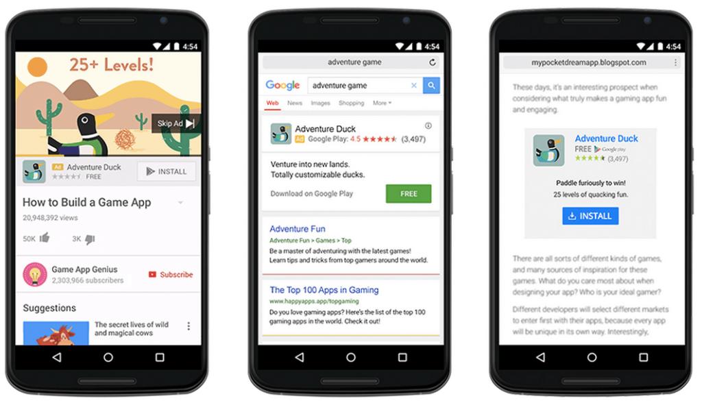 Google App Campaign in arrivo a Luglio