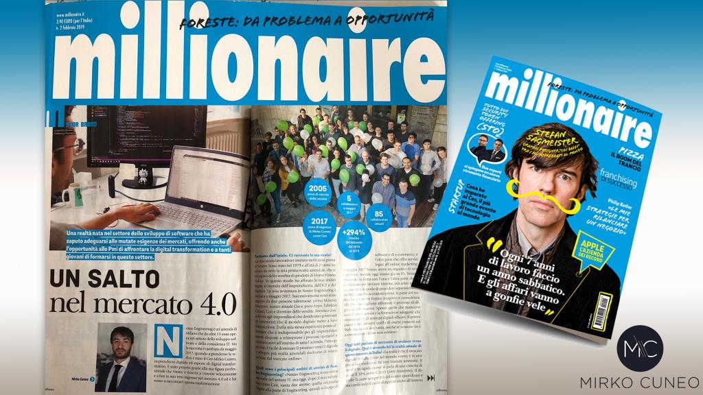 intervista millionaire