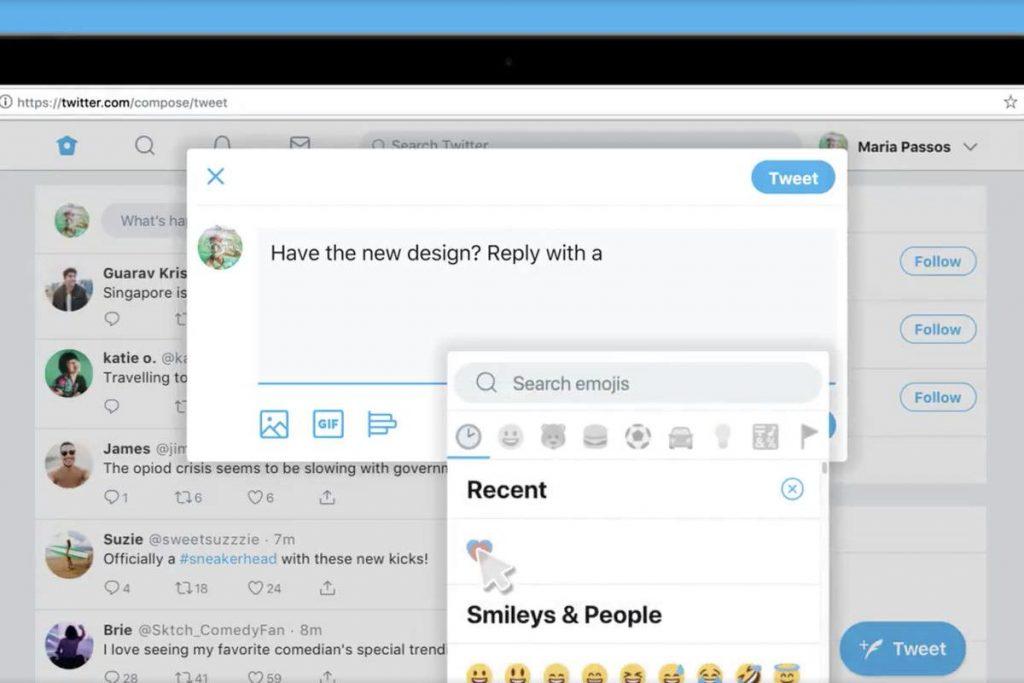 Ecco la nuova interfaccia Twitter, intuitiva e molto semplice