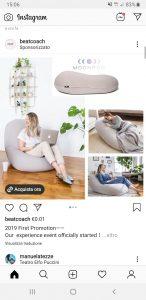 pubblicità su internet - instagram