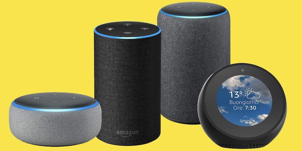 Amazon lancia quattro nuovi modelli Echo, gli altoparlanti intelligenti