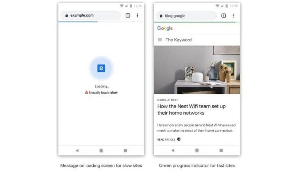 Google: in arrivo nuovi badge per segnalare i siti lenti su Chrome