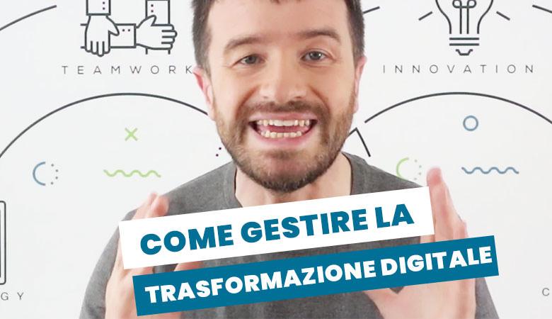 competenze per la gestione della trasformazione digitale