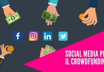 social media campagna crowdfunding