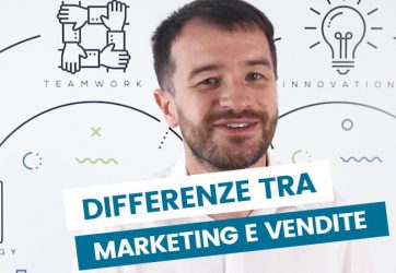 differenza tra marketing e vendita
