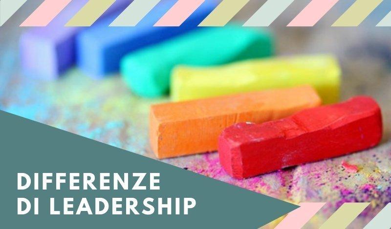 differenze di leadership