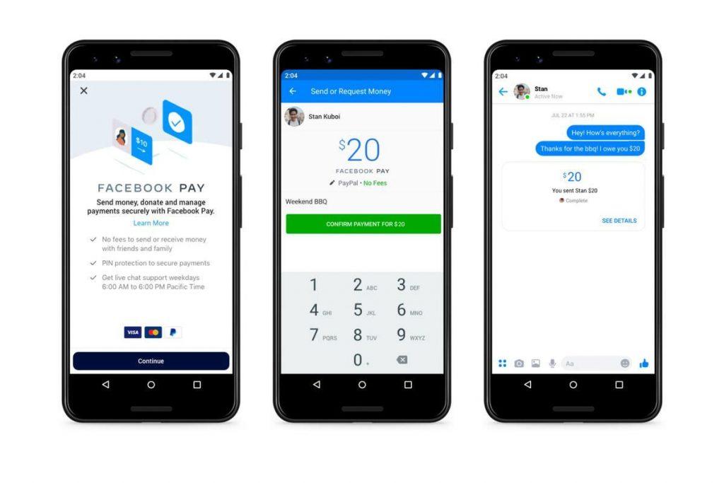 Facebook Pay, il nuovo metodo per acquistare e inviare denaro nell'app