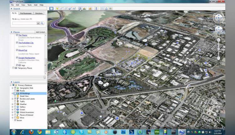 """Come tornare """"indietro nel tempo"""" con Google Earth e la nuova funzione back in time"""
