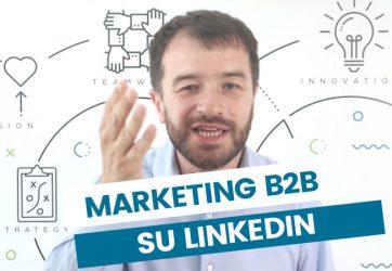 marketing b2b su linkedin