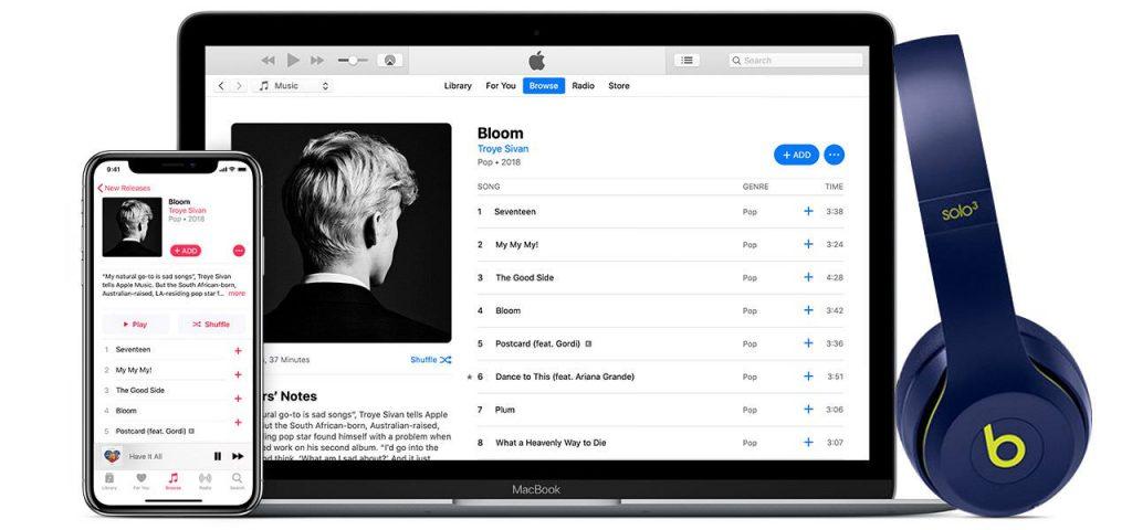 Ora è possibile ascoltare Apple Music dal browser, con il nuovo web player