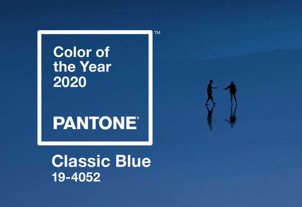 Classic Blue è il nuovo colore che Pantone ha eletto per l'anno 2020