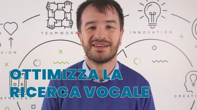 ricerca vocale ottimizzazione