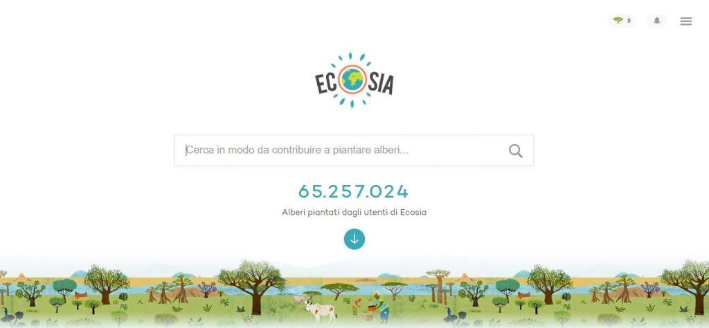 Ecosia, il motore di ricerca che pianta gli alberi, ostacola il dominio di Google