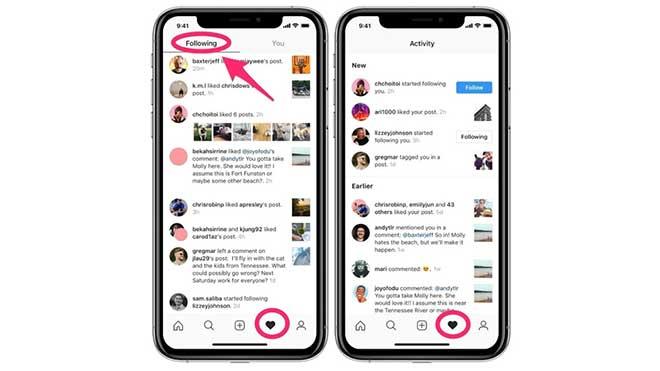 """Instagram elimina la sezione """"Seguiti"""" dalla piattaforma, la preferita dagli """"spioni""""!"""