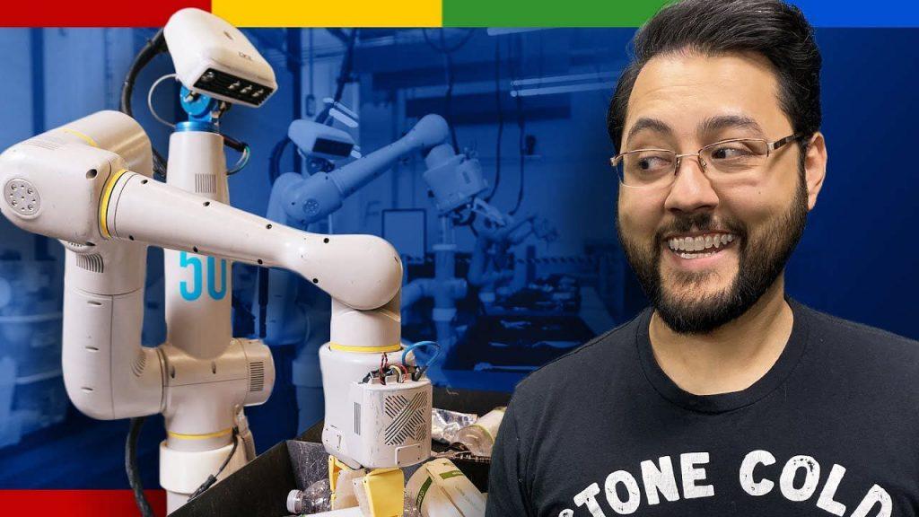 Everyday Robot di Google aiuta l'uomo a svolgere i compiti quotidiani con l'IA