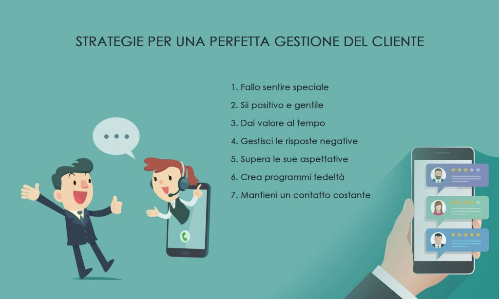 gestione del cliente - strategie