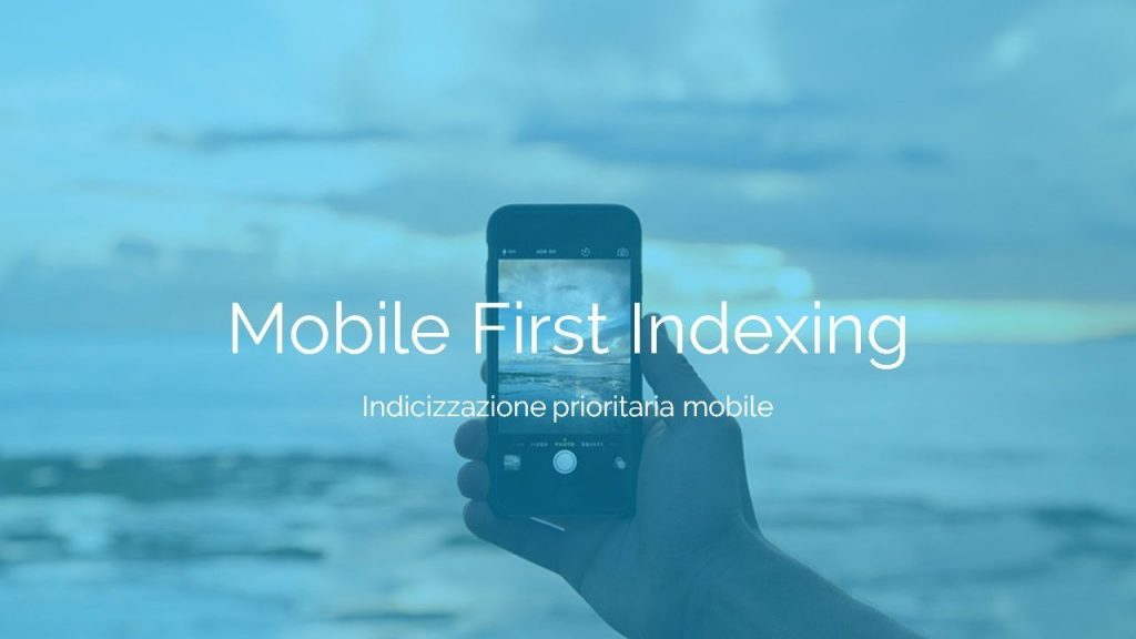 Indicizzazione mobile first