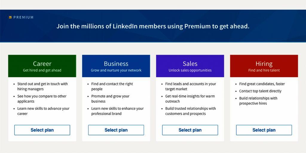 linkedin premium