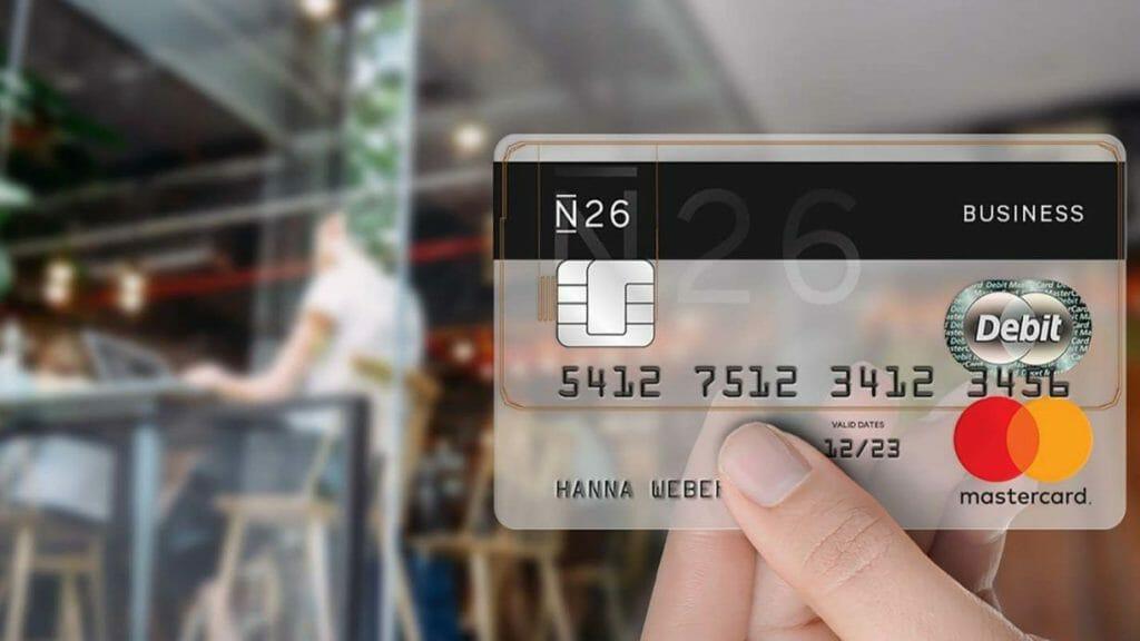 N26 Mobile Bank Tedesca