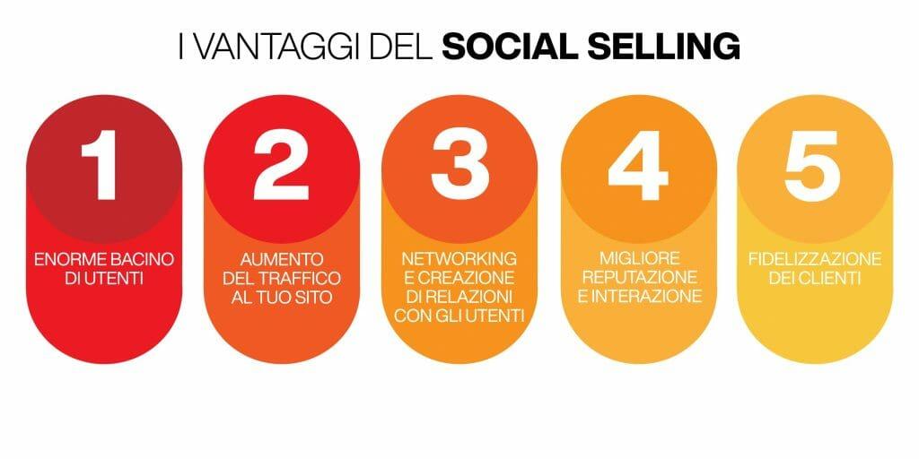 social selling - vantaggi