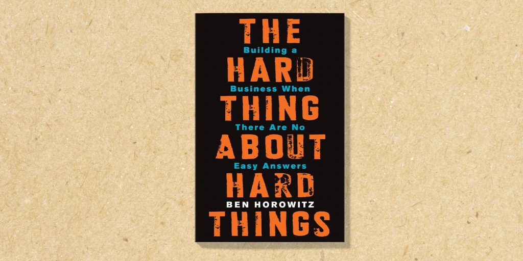 the hard thing about hard things - libro