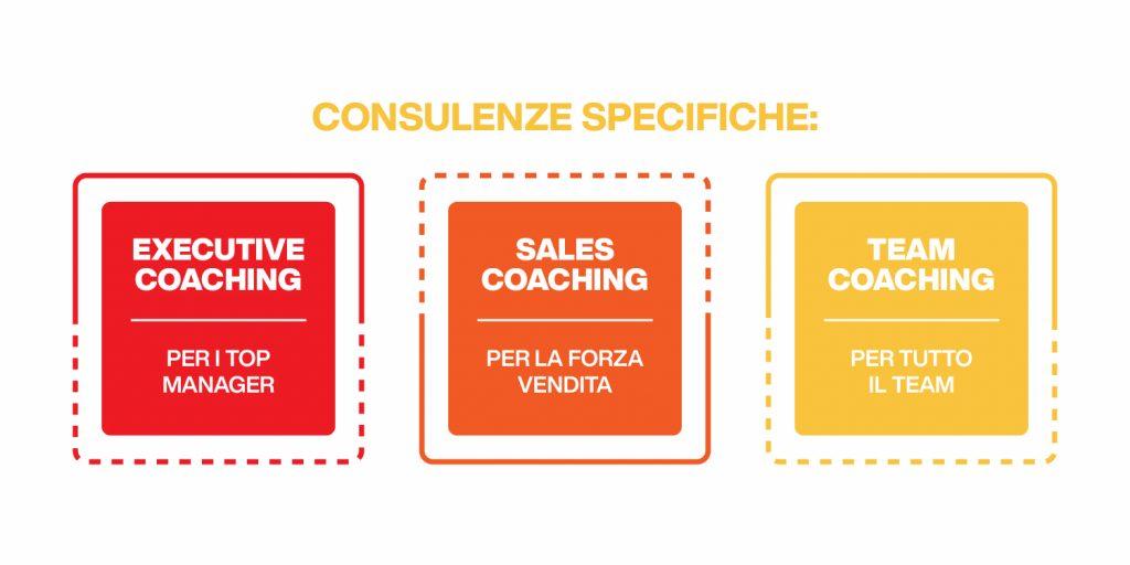 consulenze specifiche di coaching