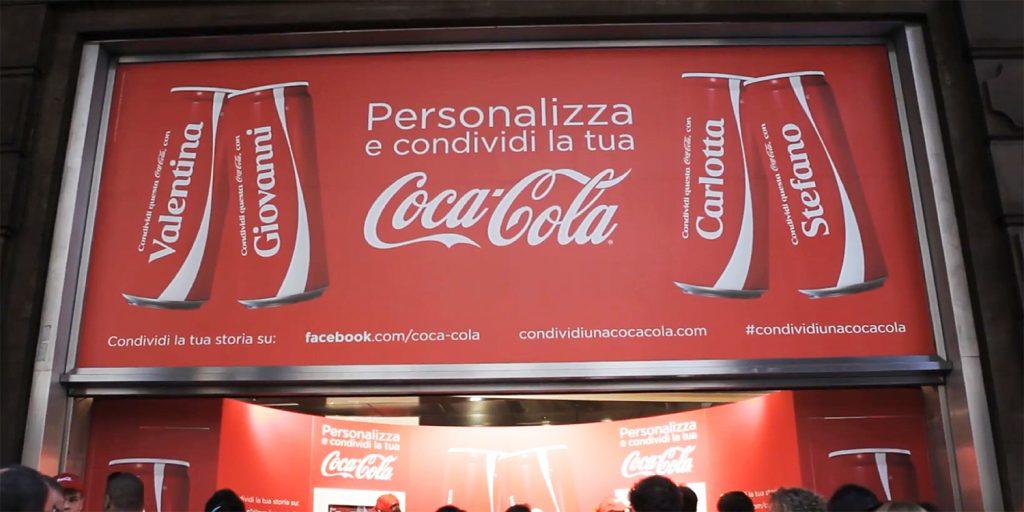 customer experience - personalizzazione coca cola